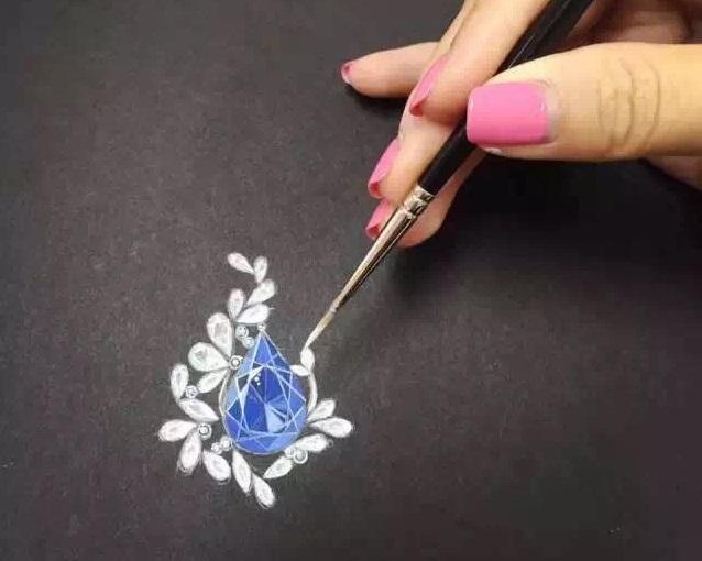 珠宝首饰设计手绘培训班开始招生啦!